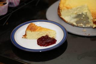 Swedish baking - cheesecake