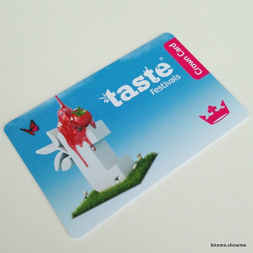 Taste of Sydney - Crowns Card