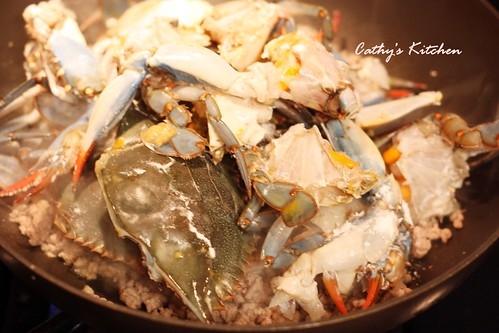 台式肉末快炒螃蟹 Crab with Minced Pork16