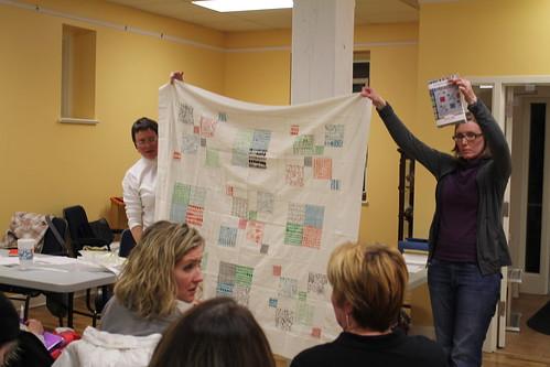 Cassandra's charm pack quilt