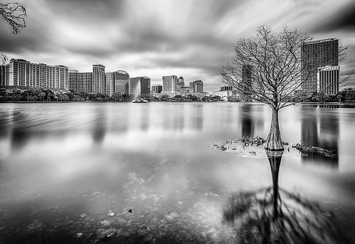 longexposure blackandwhite bw usa cloud lake reflection building tree water fountain weather architecture buildings landscape orlando lowlight cityscape florida structures cyprus explore lakeeola flowersplants centralflorida ndfilter neutraldensityfilter architectureandbuildings othermanmade