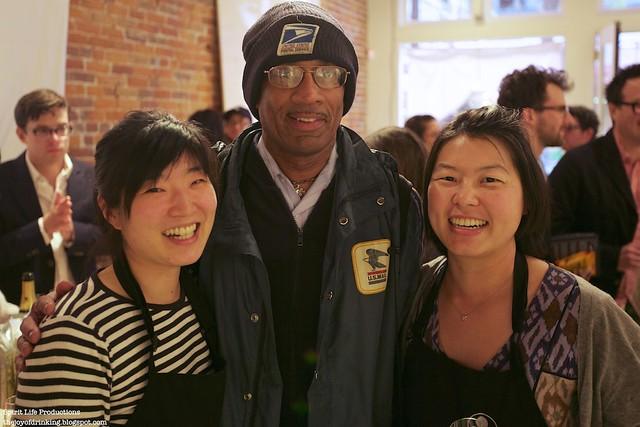 Kayoko, Yoko, and Mailman