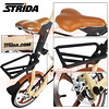 186-200 STRIDA 16吋LT版折疊單車(碟剎)奶油黃色2013年版5