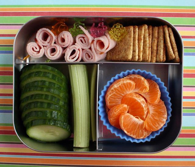 Preschooler Lunchbots Bento #417