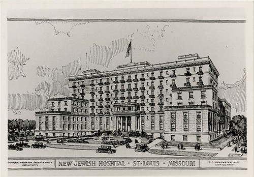 Jewish Hospital Rendering 1926