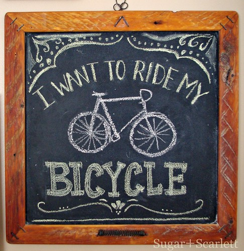 I want to ride my bicycle by SashaWarner
