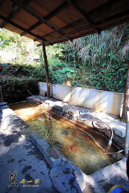 廬山警光山莊|地熱井|煮溫泉蛋體驗