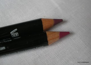Lipliner pencil 834 Prune y 836 Bloom de NYX