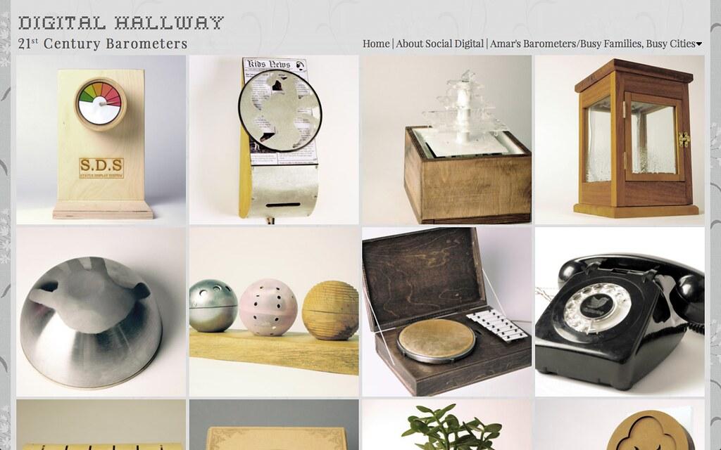 Digital Hallway website