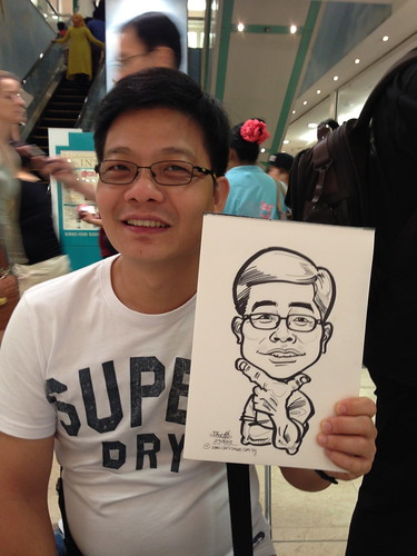 caricature live sketching for Takashimaya Good Friday Special - 40