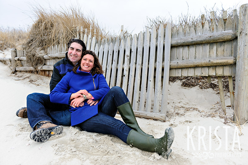 Cape Cod Engagement shoot