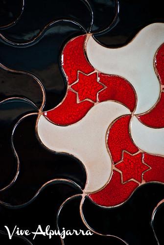 Azulejos andalusíes. Vive Alpujarra