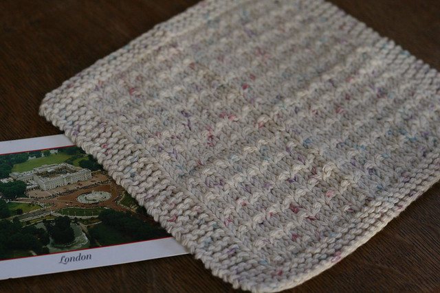 march dishcloth swap - received