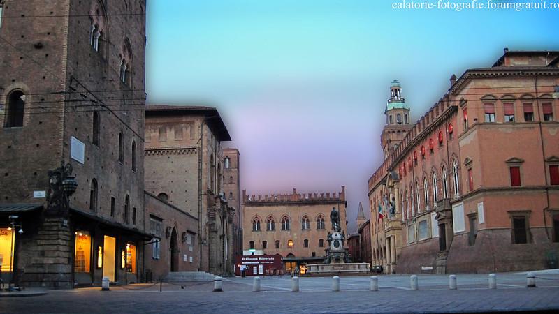 Bologna, Italia - oraşul celei mai vechi universităţi din lume, la primele clipe ale dimineţii 8608403042_bdc428c4e3_c