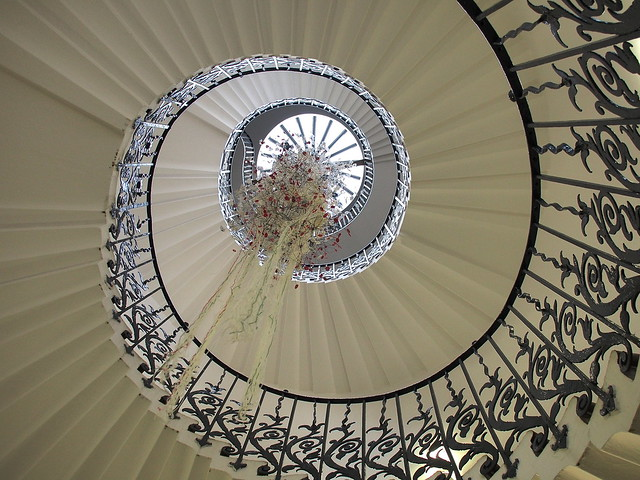 Tulip Staircase, The Queens House #explored