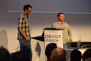 James Ward and I at Devoxx France