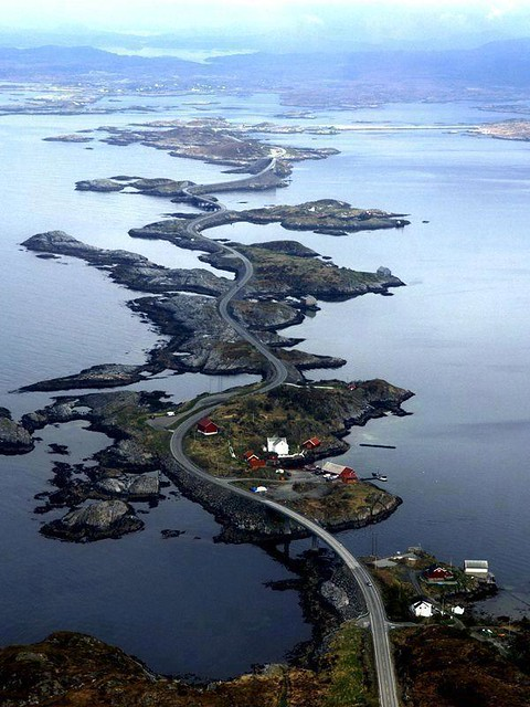 Atlantic Ocean Road in Norway!