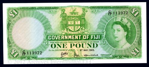 Fiji One Pound