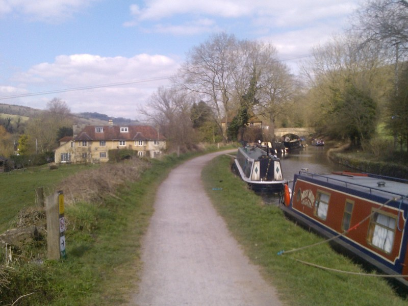 Typical scene Bath to Bradford-upon-Avon walk