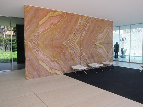 Barcelona Pavilion, Ludwig Mies van der Rohe by Michael Tinkler