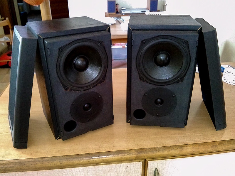 WTS Mission 760 Bookshelf Speakers