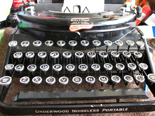 Underwood Noiseless c1934