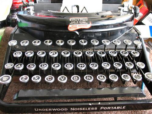 Underwood Noiseless c1934