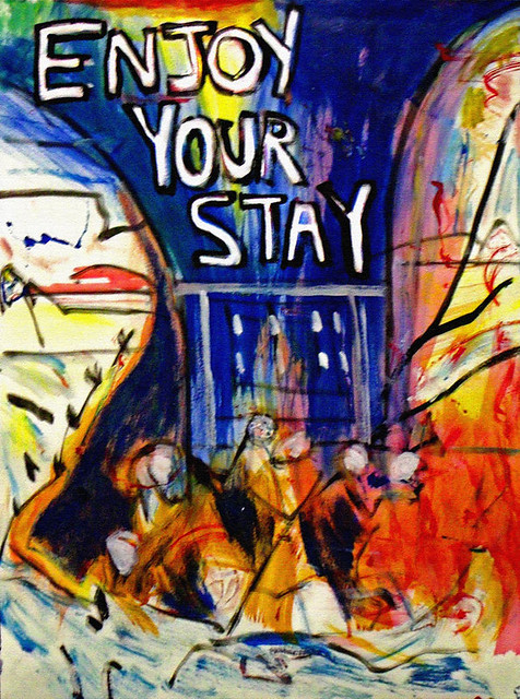 Enjoy Your Stay, by Andy Kane