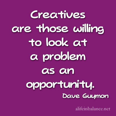 Creatives see problem as opportunity
