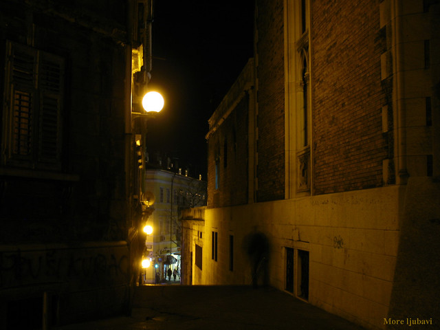 Rijeka by night