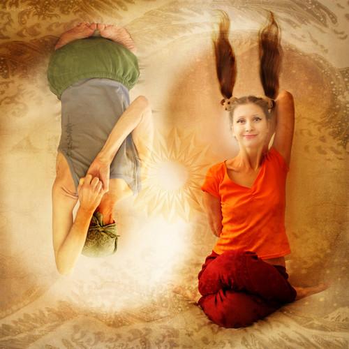 Inspiring Asanas. I'm Not an Easter Bunny :-)