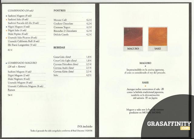 Moshi Moshi Murcia Carta // Grasaffinity