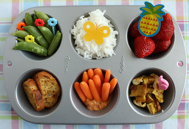 Muffin Tin Meal: half-hearted jungle