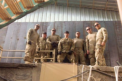 Army engineering team, Soldiers partner in Afghan security mission