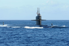 File photo of a Los Angeles-class attack submarine. (U.S. Navy/MC1 Jeffrey Jay Price)