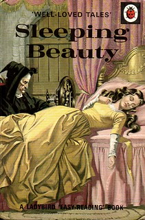 Vintage Ladybird Book SLEEPING BEAUTY Well Loved Tales Series 606d Gloss Hardback 1985