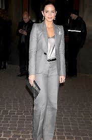 Emily Blunt Camisole Vest Celebrity Style Women's Fashion
