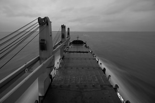 Outbound, Galveston Bay - Sept '11
