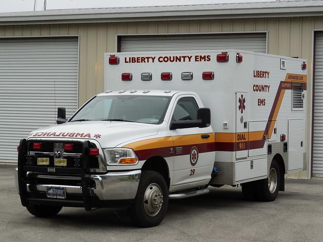 Liberty County EMS Dodge Ram 3500 Frazer Ambulance ...