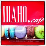 #Dessert! #Macarons from @theidahochef and @idahocafe in #cork as a get well treat.