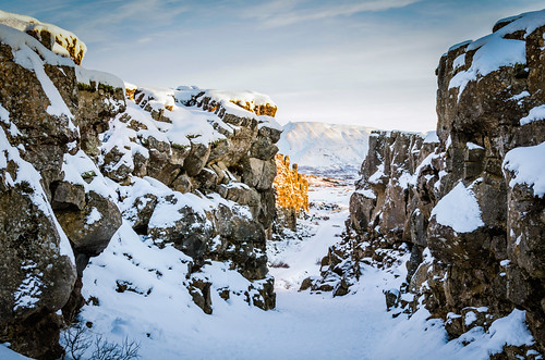 travel winter snow sunrise landscape iceland south nationalparl thingveller nikond7000