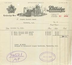 Lethbridge Breweries bill