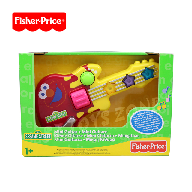 Sesame Street Musical Toys : Fisher price sesame street elmo mini guitar pre school