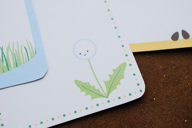 Springy Cards