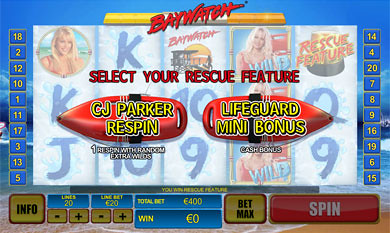 free Baywatch Rescue Feature