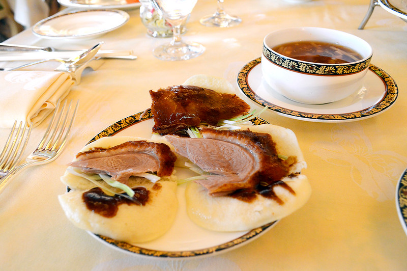 Peking Duck and Hot & Sour Soup