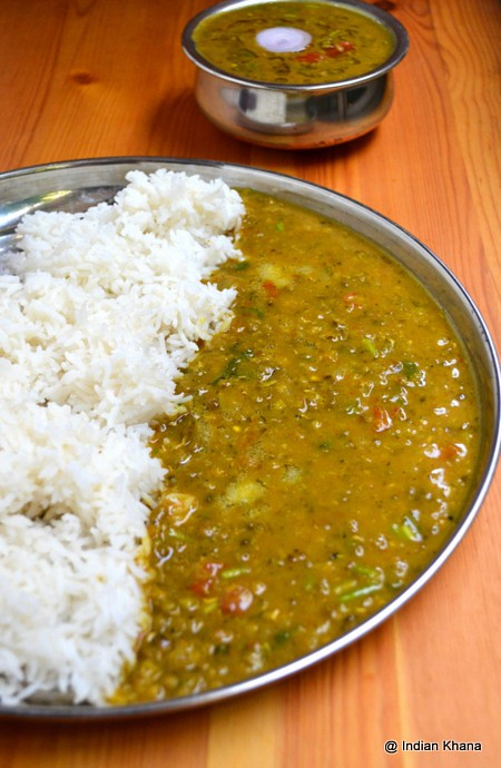 Hara Moong Dal Fry Recipe