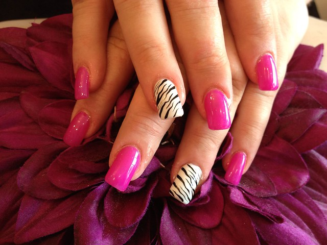 Zebra Print Nail Designs Step By Step
