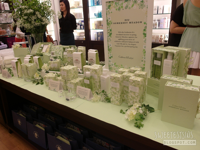 crabtree & evelyn somerset meadow collection launch