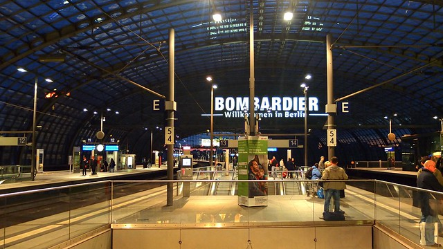 Europe 2013 | Berlin Hauptbahnhof